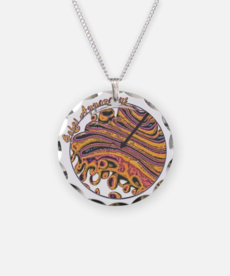 bew golgi glass Necklace