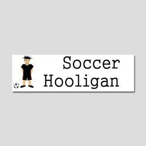 soccerhooligancap Car Magnet 10 x 3