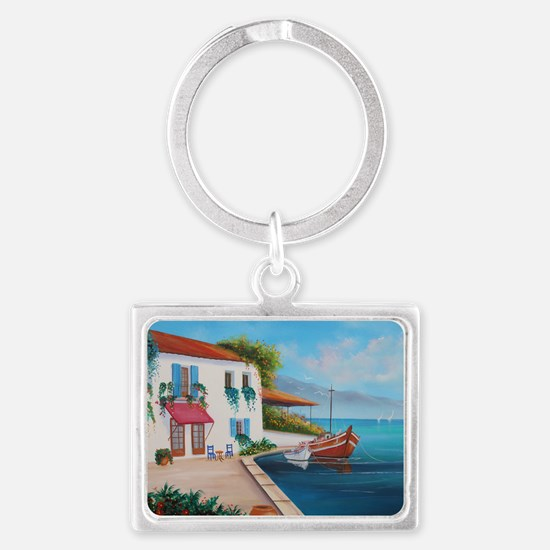 mom-cal1 Landscape Keychain