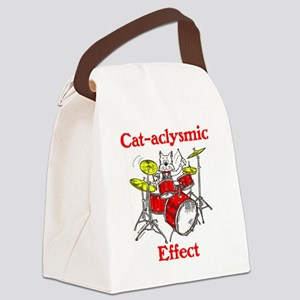 CAT-ACLYSMIC EFFECT Canvas Lunch Bag
