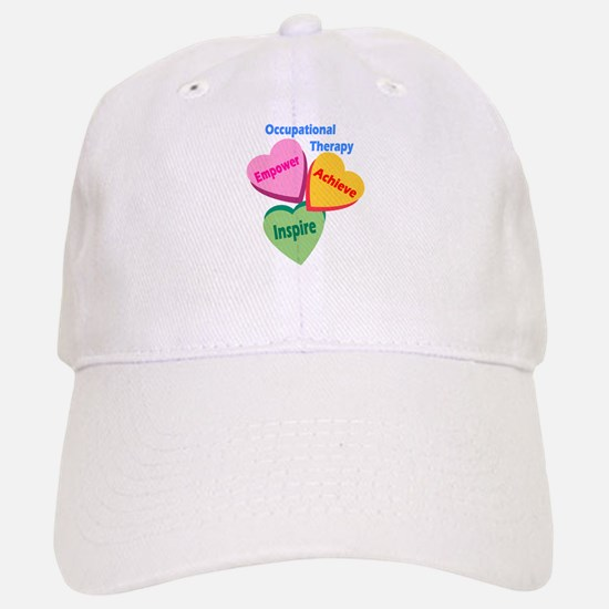 OT Multi Heart Baseball Baseball Cap