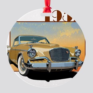 57GHawk-10 Round Ornament