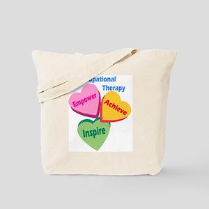 OT Multi Heart Tote Bag