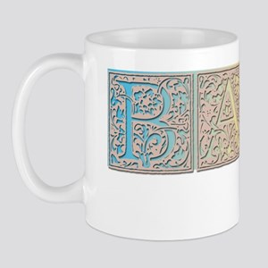 BabyMonogram1TallShadow1 Mug