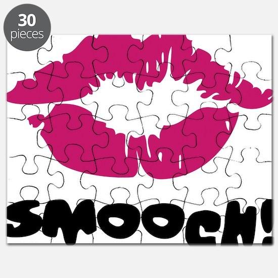 Smooch Lipstick Kiss Puzzle