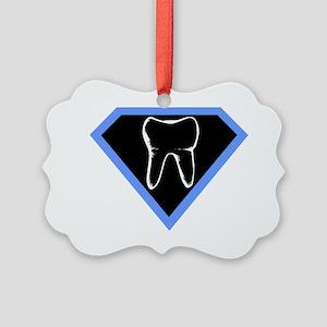 super-dentist-shirt Picture Ornament