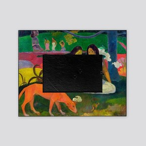 Arearea (The Red Dog) by Paul Gaugui Picture Frame