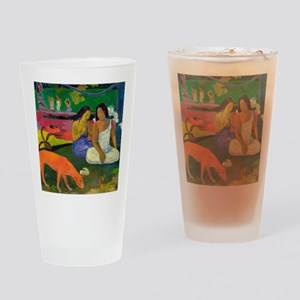 Arearea (The Red Dog) by Paul Gaugu Drinking Glass