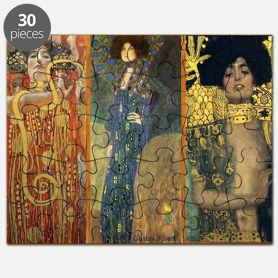 Gustav Klimt - Strong Women Puzzle