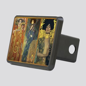 Gustav Klimt - Strong Wome Rectangular Hitch Cover