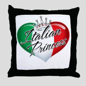 CP1013-Italian Princess Throw Pillow