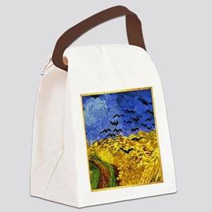 Van Gogh - Crows in a field Canvas Lunch Bag