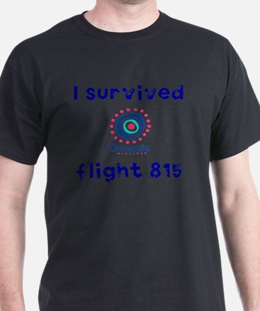 i survived oceanic airlines flight 81 T-Shirt