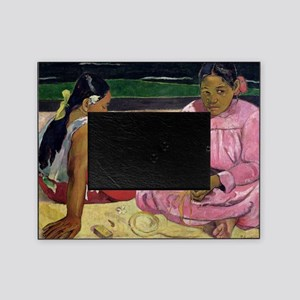 Women of Tahiti, On the Beach by Pau Picture Frame