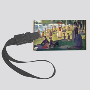 Sunday Afternoon on the Island o Large Luggage Tag