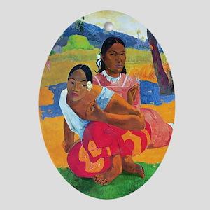 Nafea Faaipoipo (When are you Gettin Oval Ornament