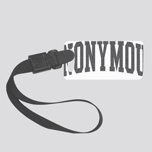 anonymous Small Luggage Tag