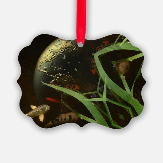 Koy Earth Reflection Ornament