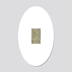 William Morris Sweet Briar 20x12 Oval Wall Decal