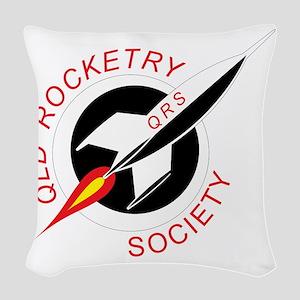 QRS-logo-10x10-200dpi Woven Throw Pillow
