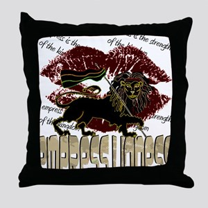 lioness2-1 Throw Pillow