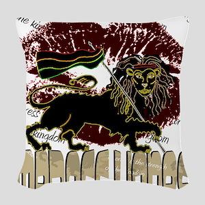 lioness2-1 Woven Throw Pillow