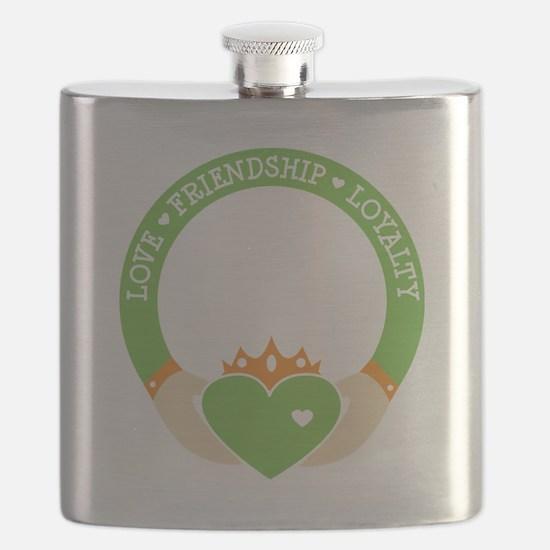 Love, Friendship, Loyalty Ring Flask