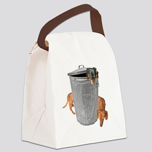 garbage tiger16x16 Canvas Lunch Bag