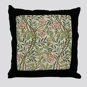 William Morris Sweet Briar Throw Pillow