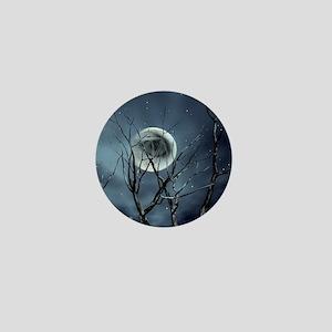 view in the night Mini Button