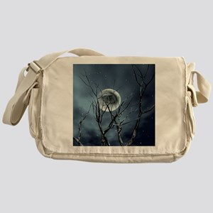 view in the night Messenger Bag