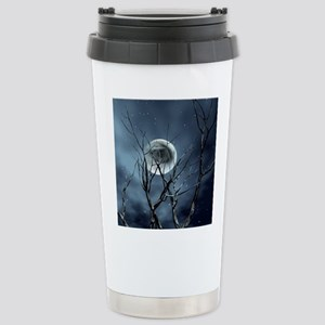 view in the night Travel Mug