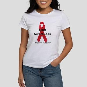 """""""AIDS Awareness"""" Women's T-Shirt"""