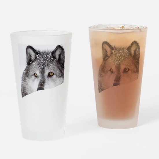 wolf ms Drinking Glass