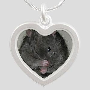 Baloo Silver Heart Necklace