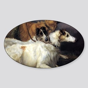 On Leash Sticker (Oval)
