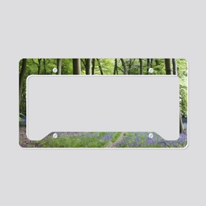 Bluebell Path License Plate Holder