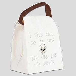 kill-you copy Canvas Lunch Bag