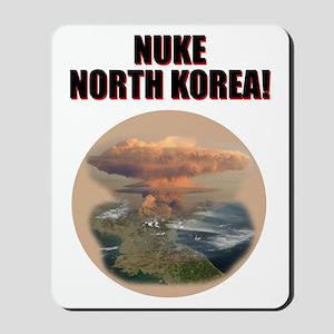 nuke noth korea Mousepad