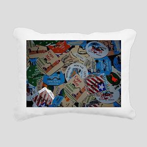 cm beach tags Rectangular Canvas Pillow