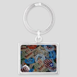 cm beach tags Landscape Keychain