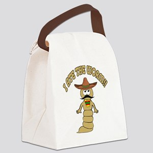 worm Canvas Lunch Bag