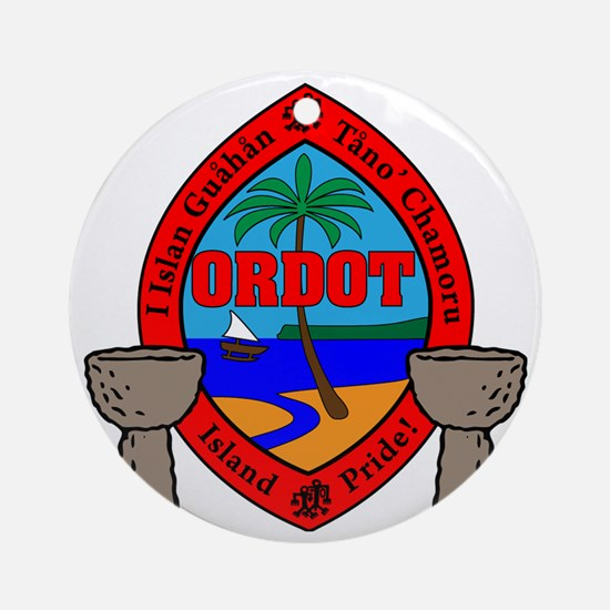 Ordot Round Ornament