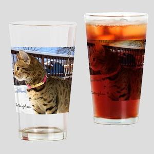 Calendar-01 Drinking Glass