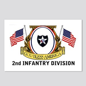 2nd INFANTRY Postcards (Package of 8)