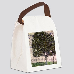The Apple Tree II by Gustav Klimt Canvas Lunch Bag