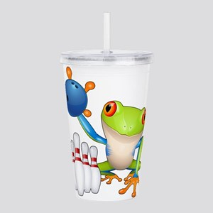 Bowling Tree Frog Acrylic Double-wall Tumbler