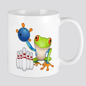 Bowling Tree Frog Mugs