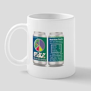 Peace, now that's refreshing! Mug