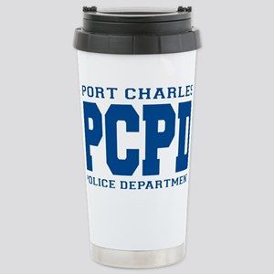 PCPD blue Stainless Steel Travel Mug